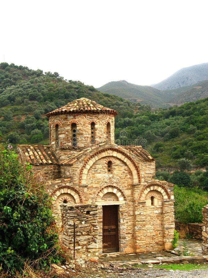Download Byzantine Church Of The Panagia In Fodele Royalty Free Stock Image - Image: 1509416