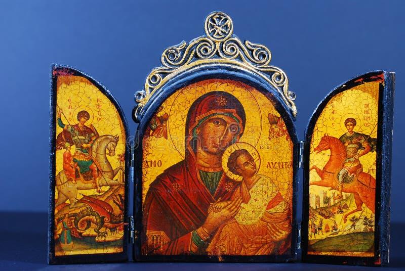 byzantine ikona zdjęcia stock