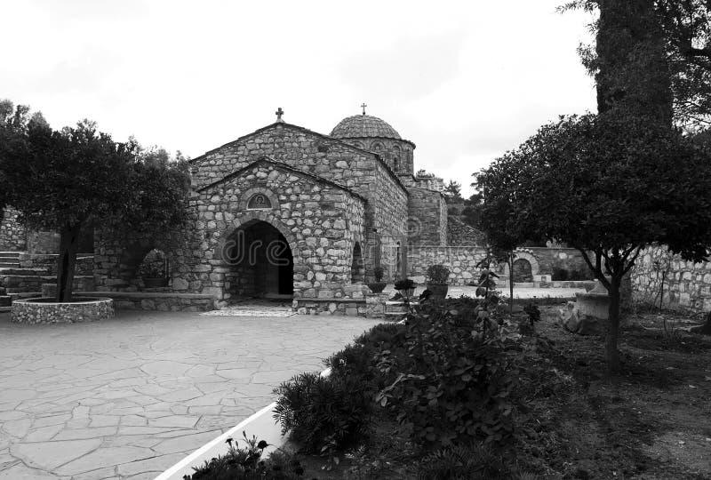 Moni Thari Monastery royalty free stock photo