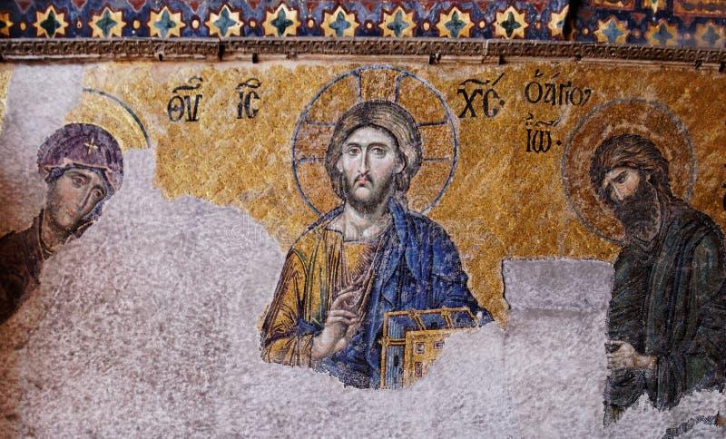 Byzantine mosaic royalty free stock image