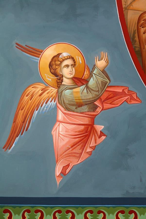 Byzantinische Freskos lizenzfreie stockfotografie