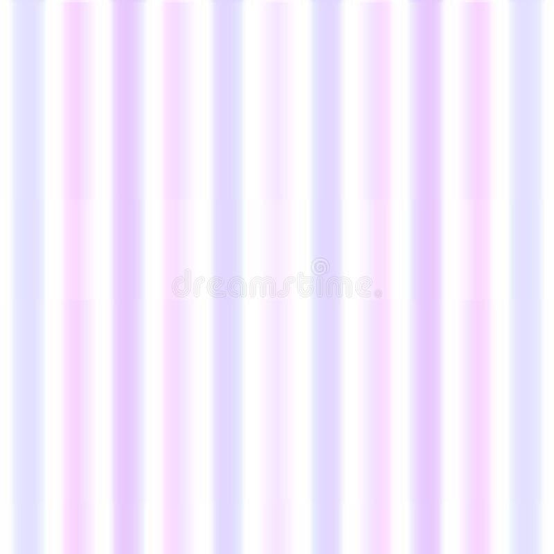 Bzu różowy pastelowy tło z lampasami ilustracji