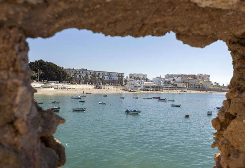 Cádiz, Andalucía, España imágenes de archivo libres de regalías