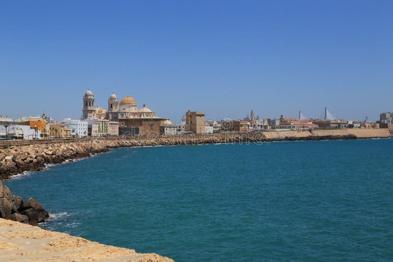 Cádiz, la ciudad más vieja de Europa fotos de archivo