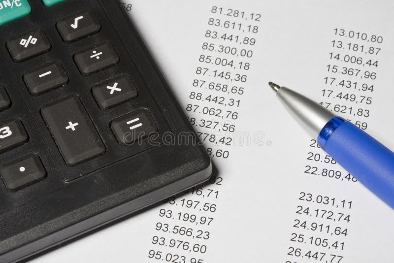 Cálculo fotografia de stock