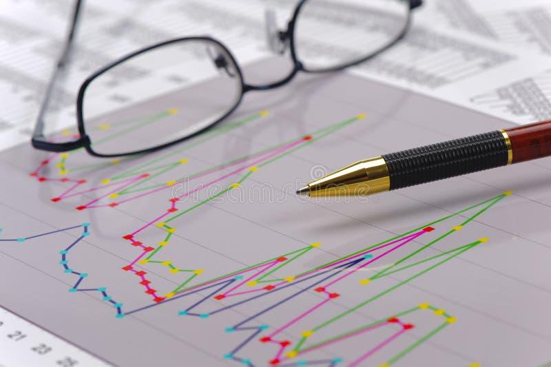 Cálculo da finança e do orçamento imagens de stock