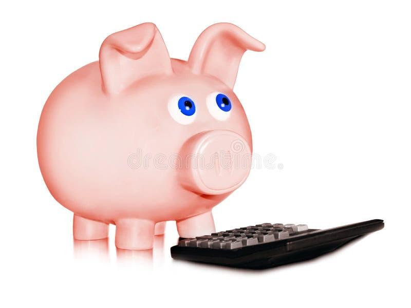 Cálculo financiero fotos de archivo libres de regalías