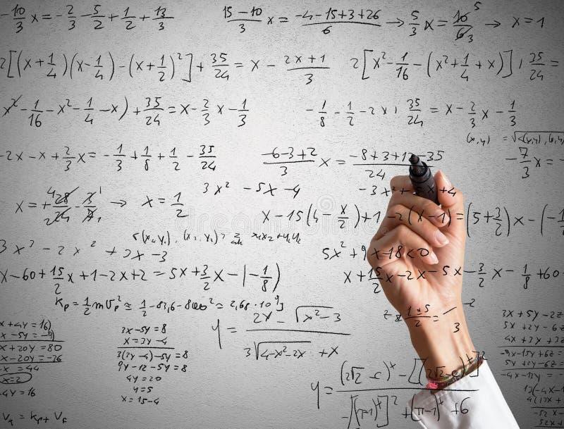 Cálculo matemático fotos de stock