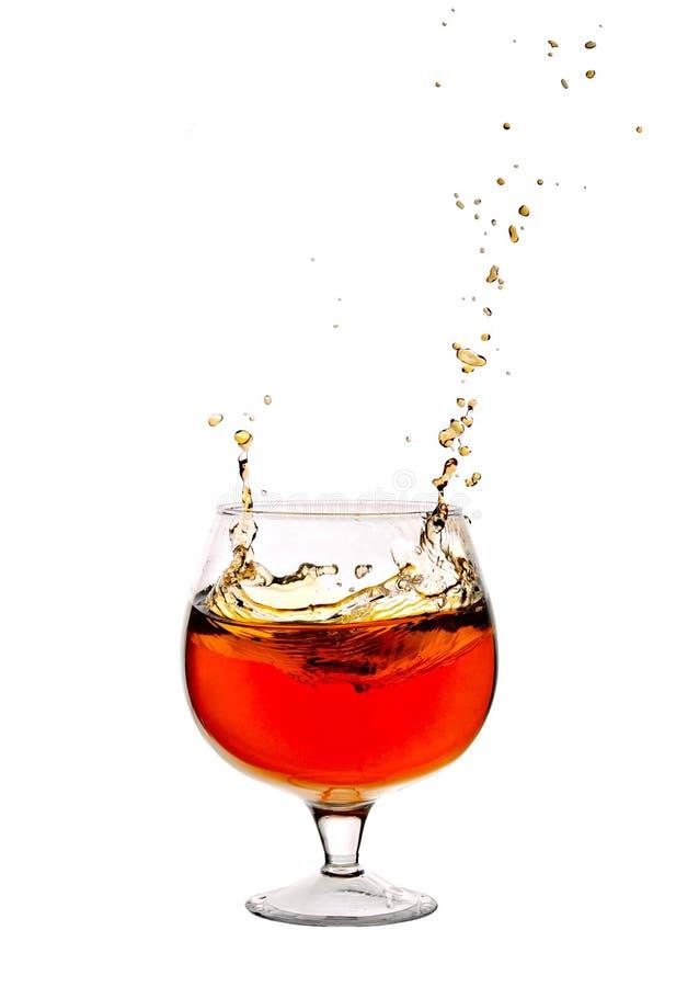 Cálice com vinho imagem de stock royalty free