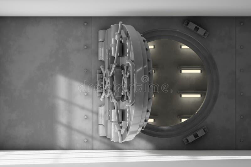Interior de la cámara acorazada fotografía de archivo libre de regalías