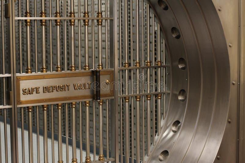 Cámara acorazada de depósito seguro foto de archivo