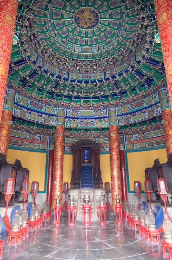 Cámara acorazada del cielo imperial imagenes de archivo
