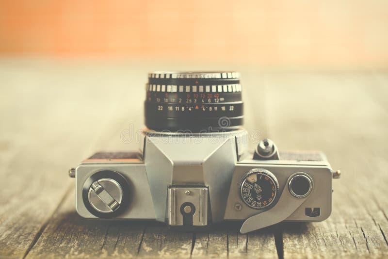 Cámara análoga retra fotografía de archivo libre de regalías