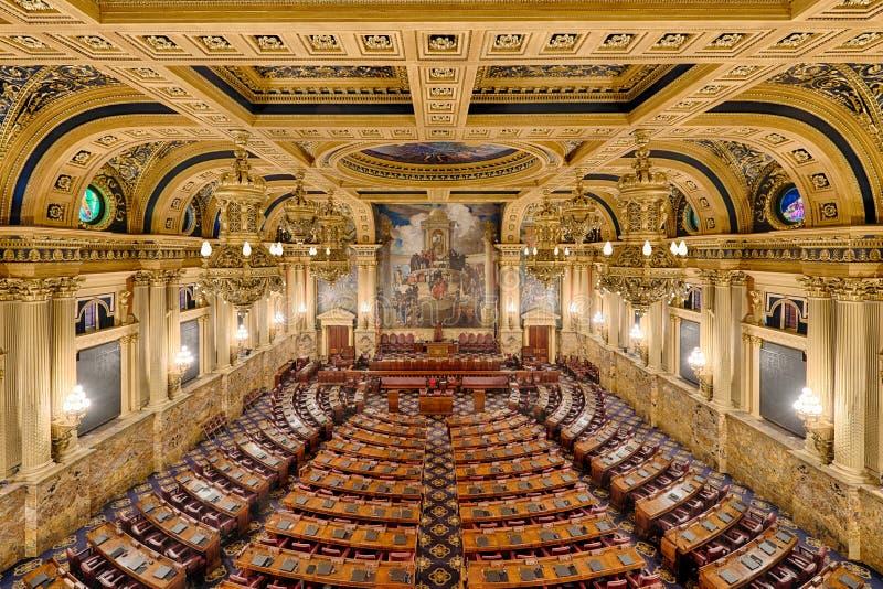 Cámara de cámara de los representantes imagen de archivo