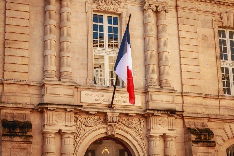 Cámara de cuentas regional del nouvelle Aquitania fotos de archivo libres de regalías