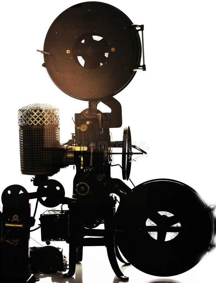 Cámara de la película imagen de archivo