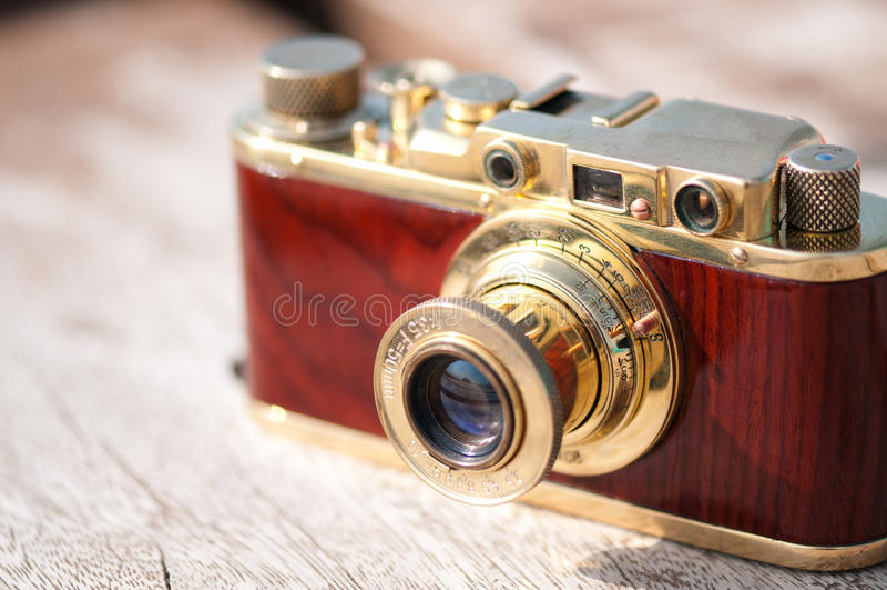 Cámara de la película de la vendimia imágenes de archivo libres de regalías