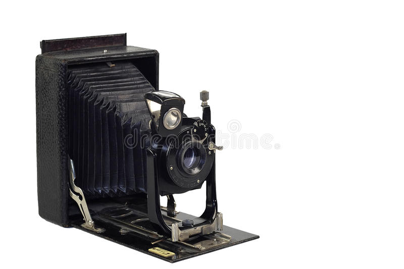 Cámara de la vendimia 35m m SLR fotos de archivo libres de regalías