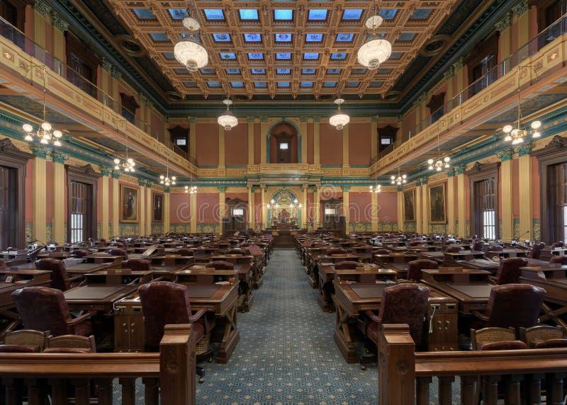 Cámara de cámara de los representantes foto de archivo