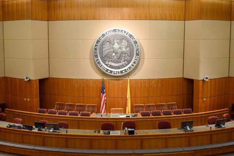 Cámara de los Representantes de New México y cámara de senado imagen de archivo libre de regalías