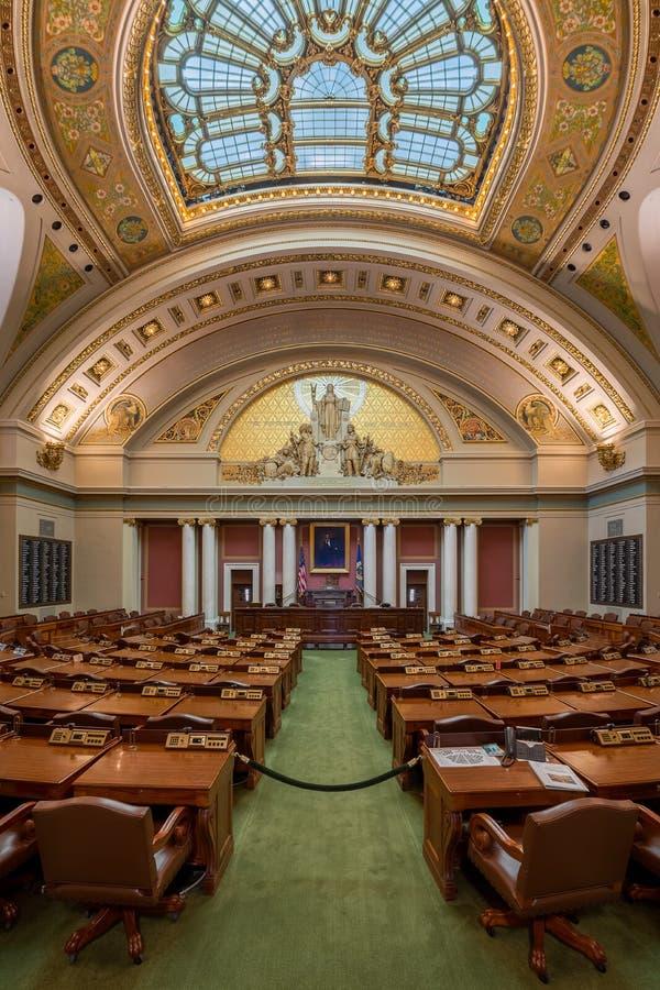 Cámara de Minnesota de representantes foto de archivo libre de regalías