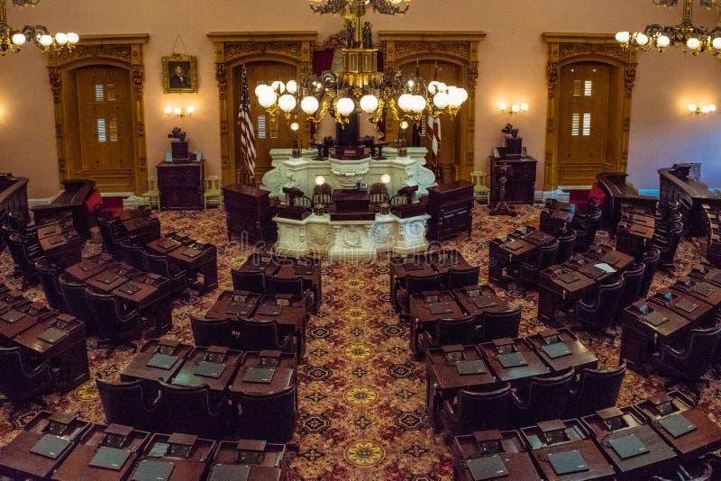 Cámara de Ohio de cámara de los representantes foto de archivo
