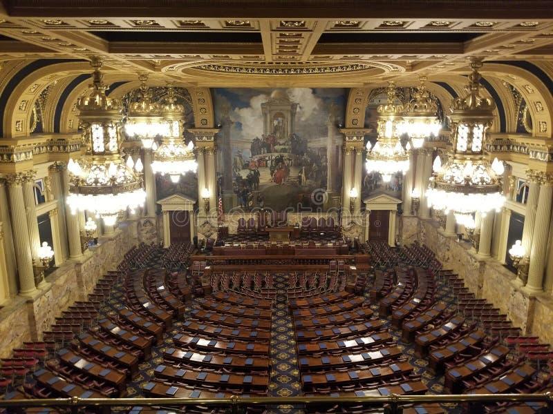 Cámara de representantes foto de archivo