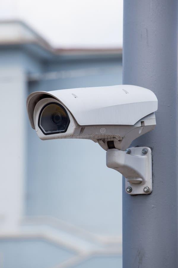 Cámara de seguridad exterior fotos de archivo