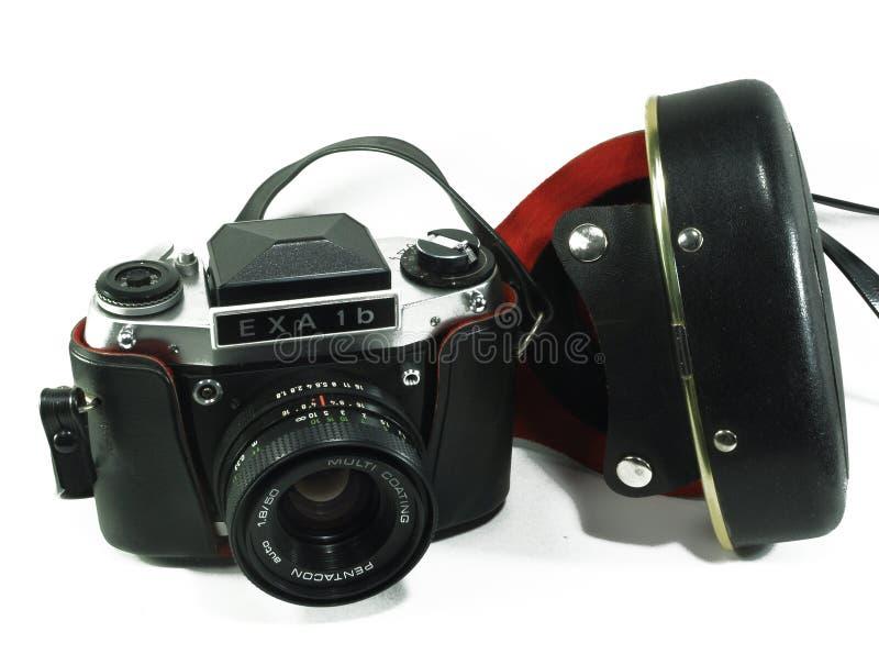 Cámara de SLR de la película del vintage imagen de archivo