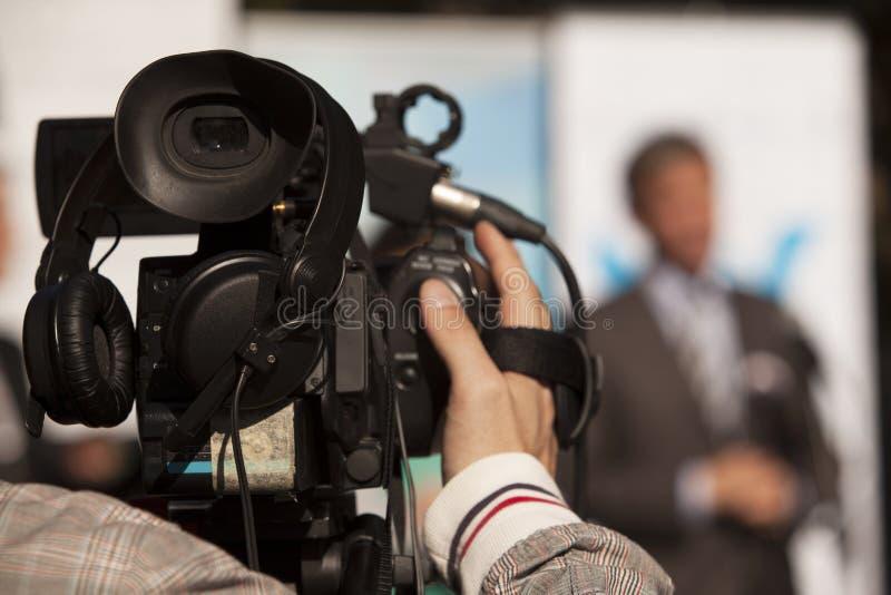 Cámara de vídeo imágenes de archivo libres de regalías