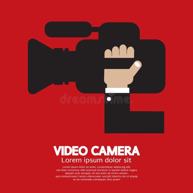 Cámara de vídeo stock de ilustración