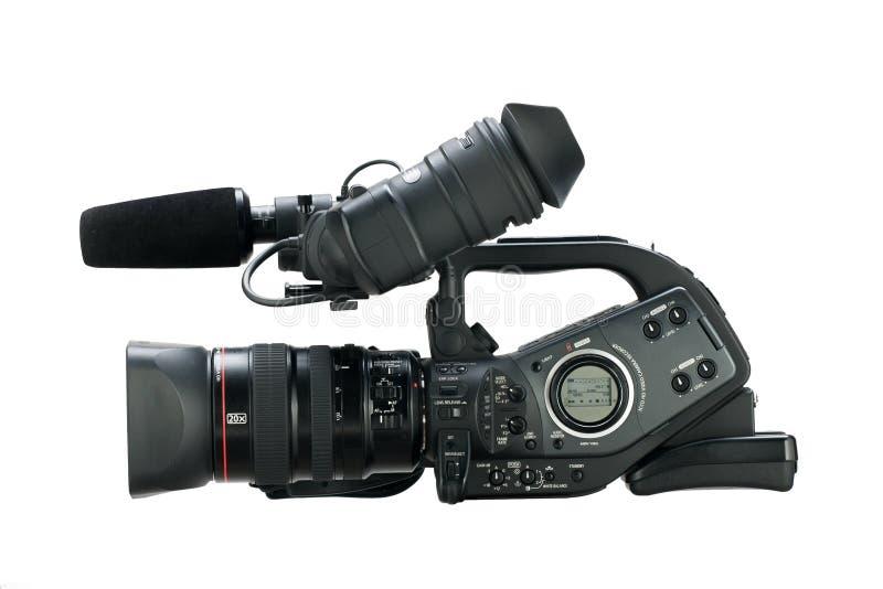 Cámara de vídeo de Digitaces imágenes de archivo libres de regalías