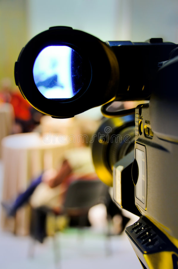 Cámara de vídeo digital profesional