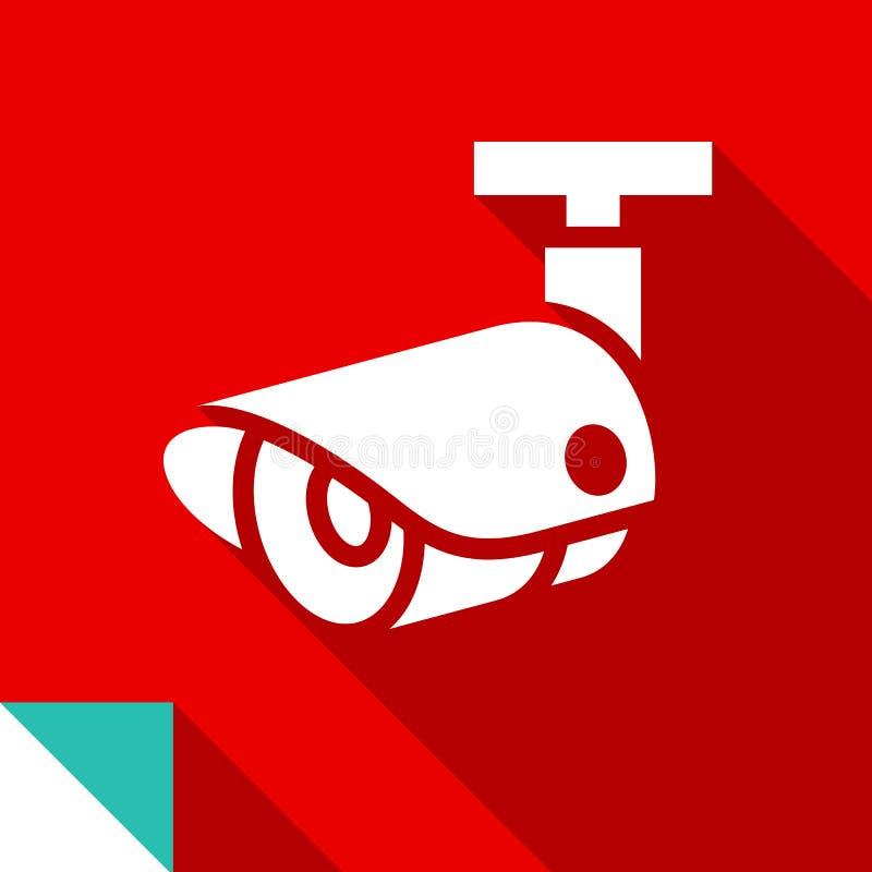 Cámara de vigilancia 02 ilustración del vector