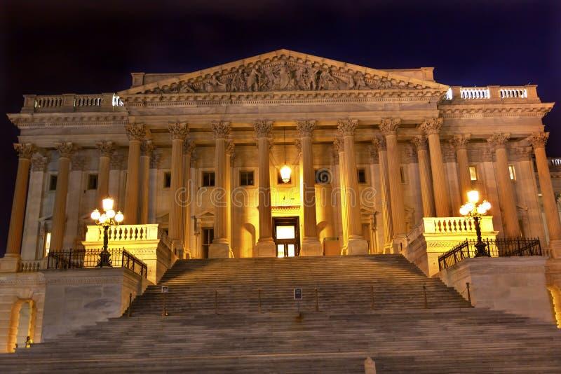 Cámara de Washington DC del capitolio de los E.E.U.U. de los representantes imagen de archivo libre de regalías