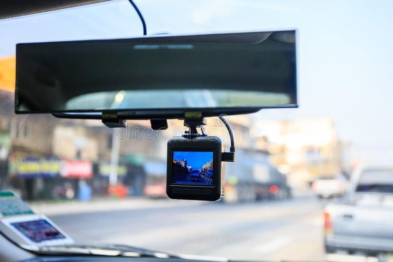 Cámara del coche del CCTV fotos de archivo libres de regalías