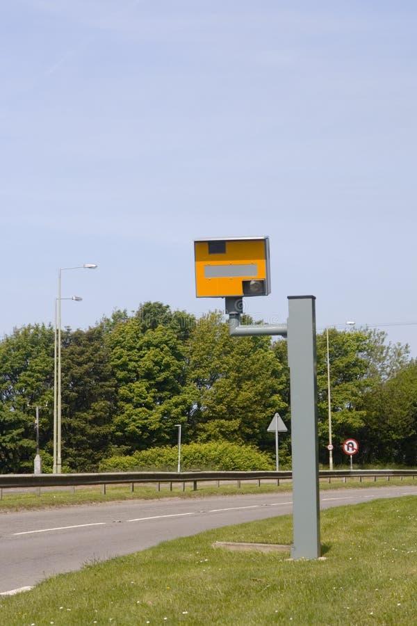 Cámara del desvío de velocidad, Reino Unido fotografía de archivo