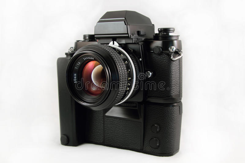 Cámara del flim SLR de la vendimia los 35MM imagenes de archivo
