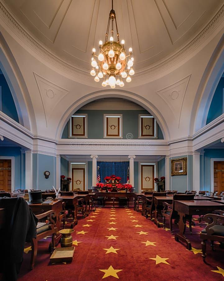 Cámara del norte de Carolina Senate fotos de archivo