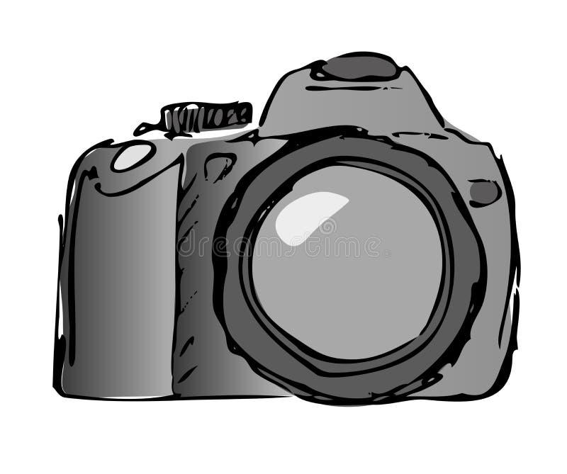 Cámara inmóvil stock de ilustración