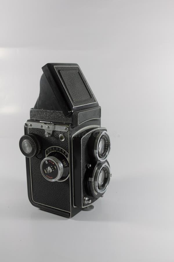 Cámara refleja de la lente gemela fotos de archivo libres de regalías