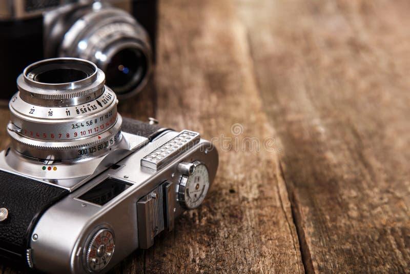 Cámara retra imágenes de archivo libres de regalías