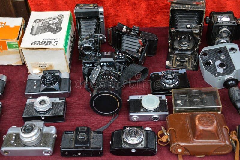 Cámara retra fotos de archivo libres de regalías