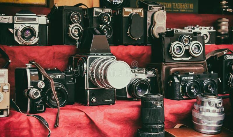 Cámara retra fotografía de archivo libre de regalías