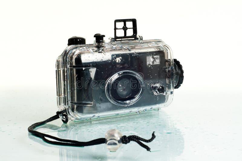 Cámara subacuática de la fotografía fotos de archivo libres de regalías