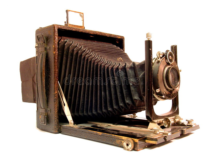 Cámara vieja de la foto fotos de archivo libres de regalías