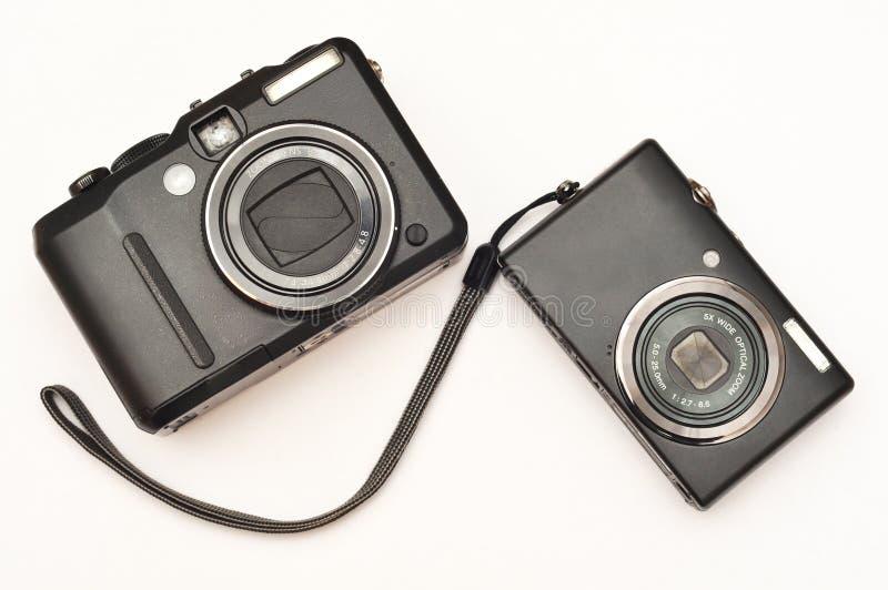 Cámaras digitales compactas imágenes de archivo libres de regalías