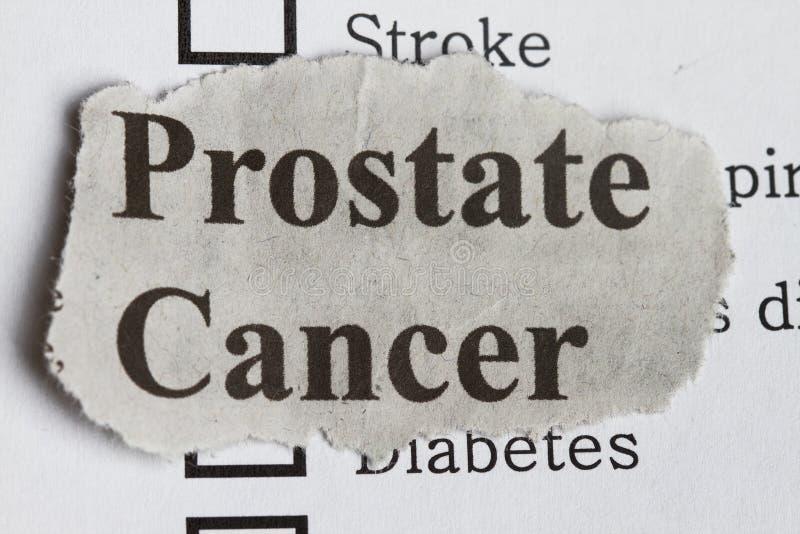 Cáncer de próstata fotografía de archivo libre de regalías