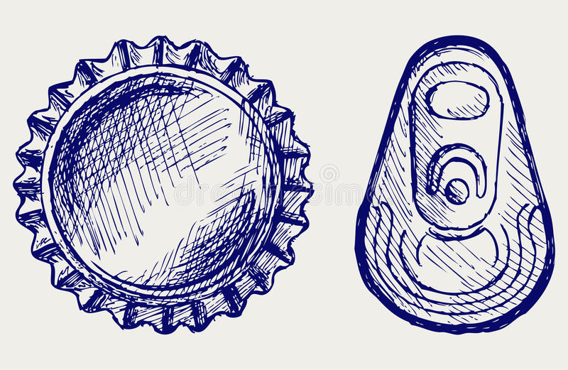 Cápsula ilustración del vector