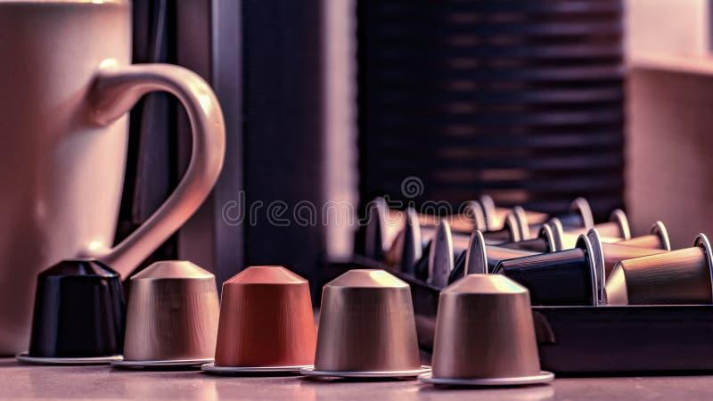 Cápsula del café imagen de archivo libre de regalías